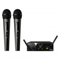 RADIO MICROFONO AKG WMS40 MINI DUAL VOCAL SET