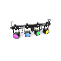 LED BEAMZ ASTRO PARBAR 4-WAY KIT 4X10W DMX