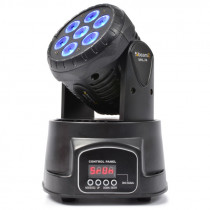 BEAMZ MHL74 MINI MOVING HEAD WASH 7X10W