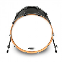 "PELLE CASSA RESONANTE 18"" EVANS EQ3 COATED WHITE"