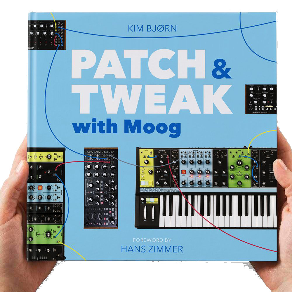 BJOOKS - PATCH & TWEAK WITH MOOG