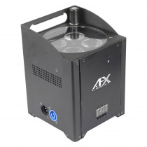 AFX WIRELESS BATTERY PAR LED 4X15W