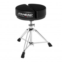 AHEAD SPG-ARTB ROUND BLACK DRUM THRONE SPINAL-G