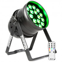 BEAMZ BPP210 LED PAR 64 18X12W QUAD RGBW