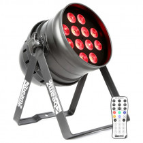 BEAMZ LED PAR 64 12X 12W 4 IN 1 LED