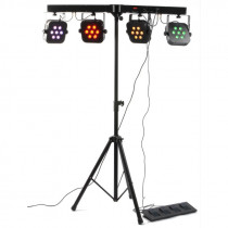 BEAMZ PARBAR 4-WAY KIT 7X10W QUAD LED'S