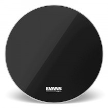 EVANS EQ3 NO PORT RESO BLACK BD18RB-NP DA 18""