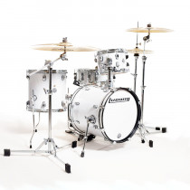 LUDWIG BREAKBEATS QUESTLOVE WHITE SPARKLE