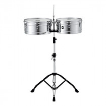 TIMBALES MEINL HEADLINER HT1314CH CON SUPPORTO