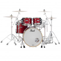 BATTERIA PEARL MASTER MAPLE COMPLETE 4 FUSTI INFERNO RED SPARKLE MCT924XEP/C319
