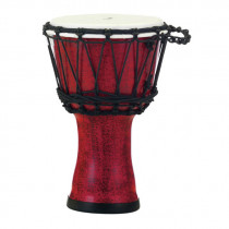 "PEARL ROPE TUNED DJEMBE 7"" MOLTEN SCARLET"