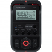 ROLAND R07 BLACK DIGITAL RECORDER