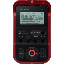 ROLAND R07 RED DIGITAL RECORDER