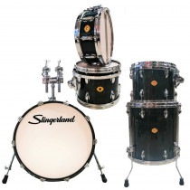 SLINGERLAND STUDIO KING SESSIO MASTER KIT EMERALD GREEN PREMIUM LACQUER
