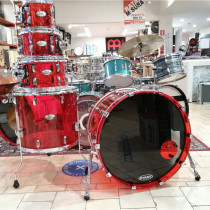 BATTERIA PEARL CRYSTAL BEAT RUBY RED