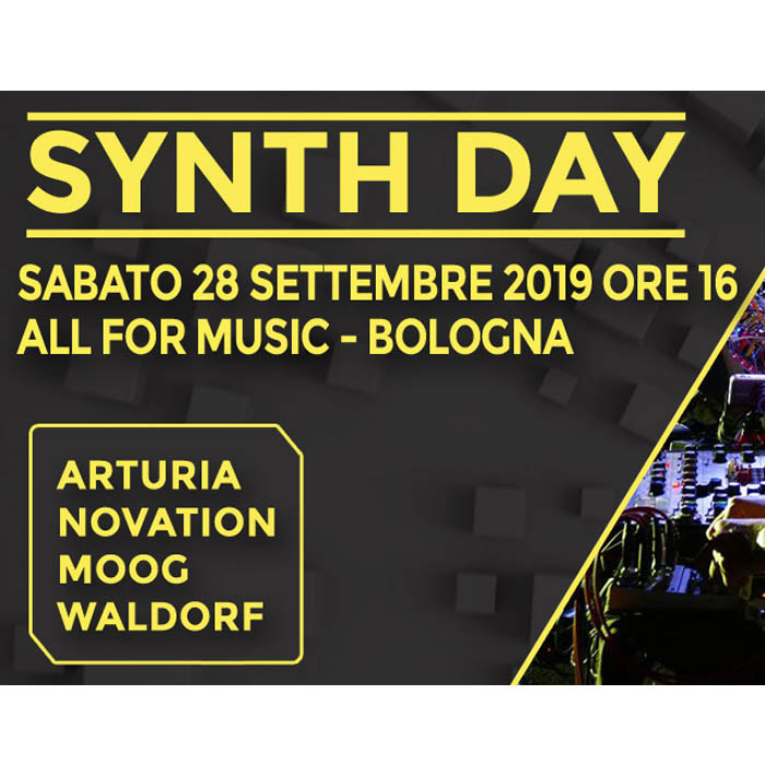 SYNTH DAY CON ENRICO COSIMI