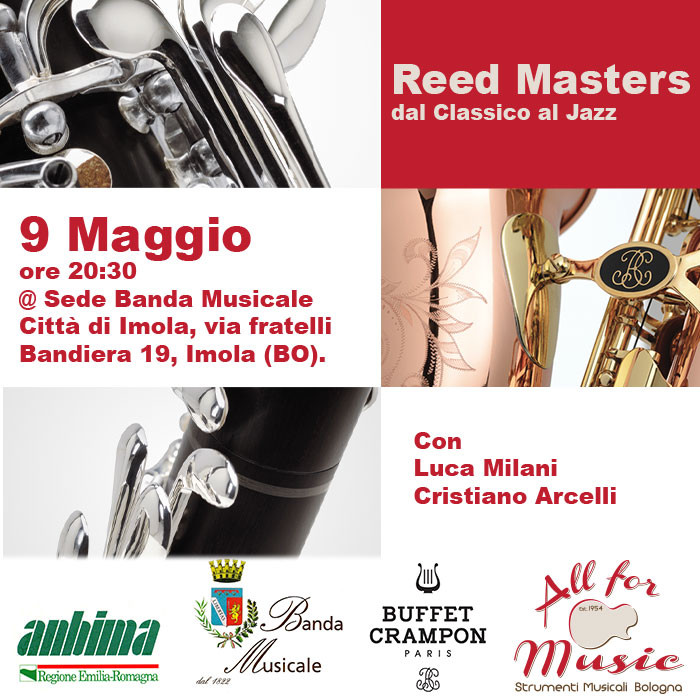 Reed Masters, dal Classico al Jazz