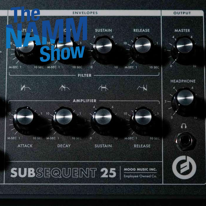NAMM 2020 | MOOG presenta il Subsequent 25