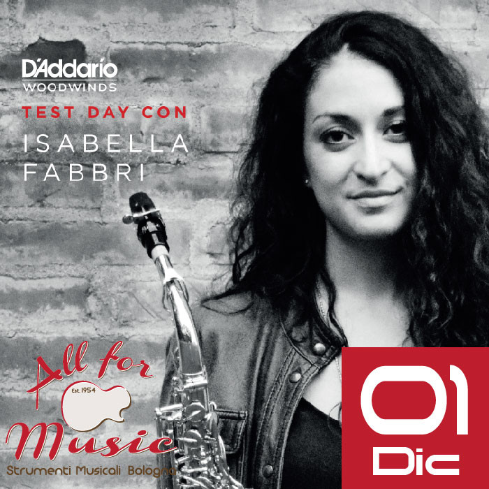 D'Addario Woodwinds: Test day con Isabella Fabbri