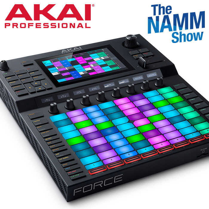 AKAI FORCE: Standalone Music Production/DJ Performance System