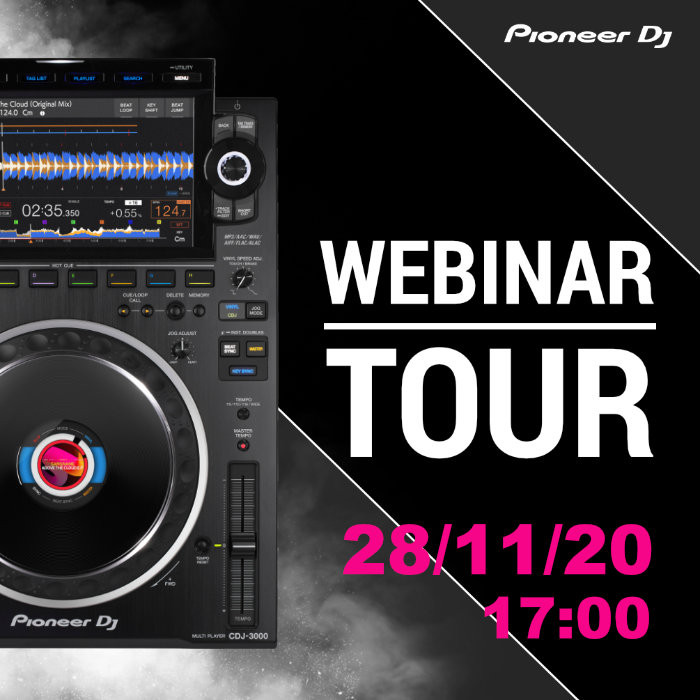 Webinar tour by Pioneer DJ