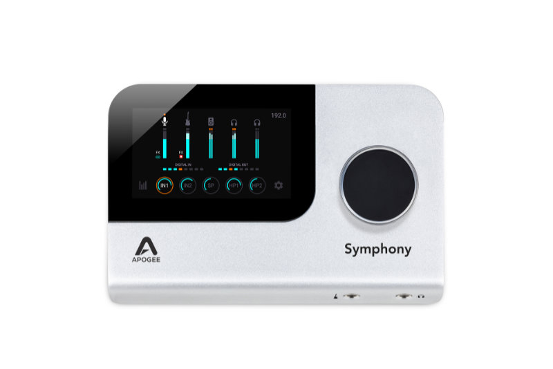 Interfaccia Apogee Symphony Desktop novità namm 2020