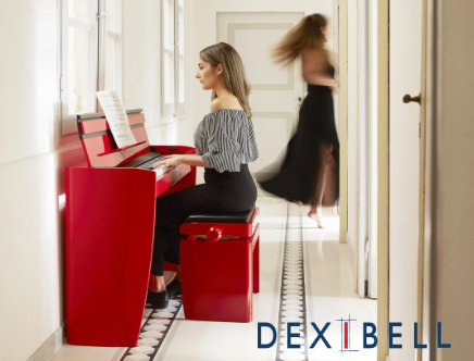 Pianoforti digitali Dexibell made in italy design italiano