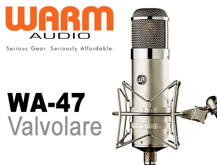 Microfono valvolare Warm Audio WA-47