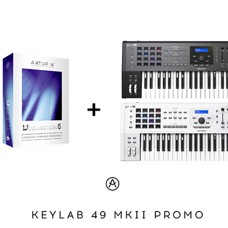 Promo ARTURIA KeyLab 49 MkII V collection 6