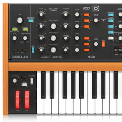 Synth analogici Behringer classici in offerta online