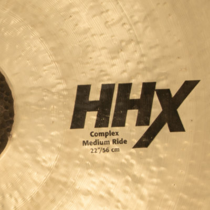 Piatti per batteria crash e ride SABIAN HHX Complex